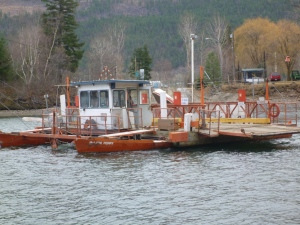 Thompson River Ferry