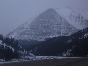 Pyramid (?) Mountain