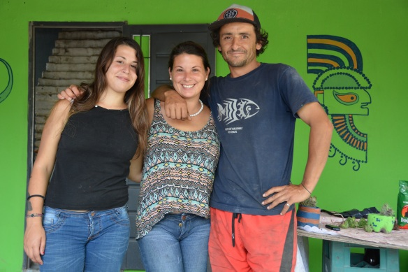 Celina, Melisa and Lautaro